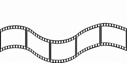 Film Clipart Strip Reel Vector Cartoon Clipartix