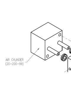 Trigger Gun Pneumatic - Trigger Operated Dispense Gun