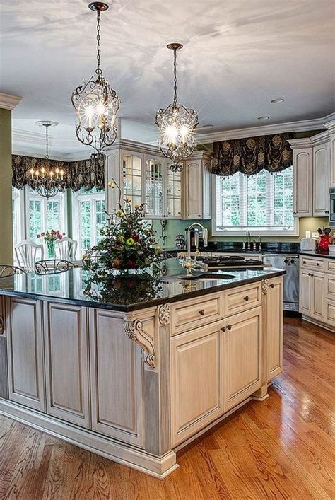 kitchens with an island best 25 country kitchen lighting ideas on 6599