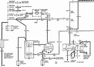 1990 F250 Alternator Wiring Diagram