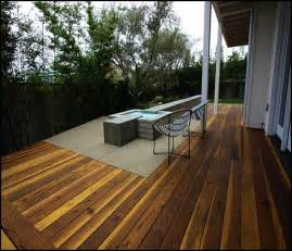 build wood deck concrete patio icamblog