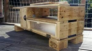 Meuble De Cuisine En Palette : meuble de cuisine en palette youtube ~ Dode.kayakingforconservation.com Idées de Décoration