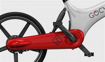 Gocycle Gs Electric Bicycle Chain Drive Oily