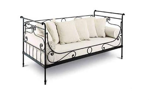 canapé lit en fer forgé canape en fer forge 28 images canap 233 de jardin fer
