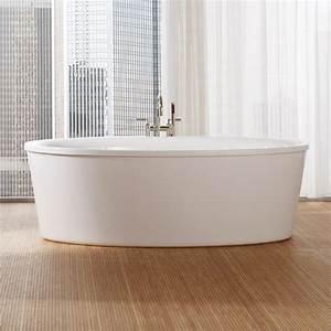 Freistehende Badewanne Oval : repabad vasa 190 f freistehende oval badewanne mit sch rze megabad ~ Sanjose-hotels-ca.com Haus und Dekorationen