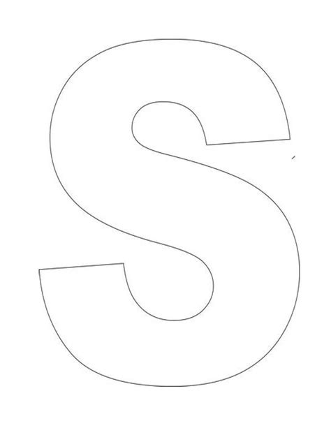 printable letter s template letter s templates are 791 | a80d4c95f6def74f93ca0746d23d48ea letter s template printable letters