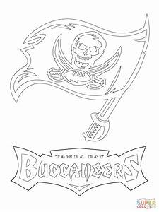 Tampa Bay Buccaneers Logo Coloring Page Free Printable