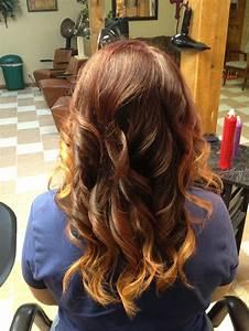 Ombré Hair Auburn : 62 best images about pretty hair on pinterest edgy bob haircuts bobs and auburn hair ~ Dode.kayakingforconservation.com Idées de Décoration