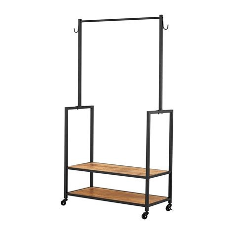metal clothing racks order home collection metal vintage garment rack 3328041 the home depot