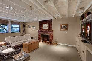 basement exposed ceiling basement pinterest can