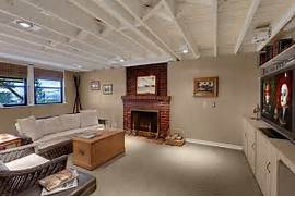 Exposed Ceilings Basement Ideas White Ceiling Basements Basement Exposed Beam Ceiling Insulation Ecological House In Montreal With Contemporary Exposed Beams Home With Stone Facade Mountain Side Tranquillity Immense House