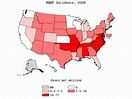 Rocky Mountain spotted fever epidemiology and demographics ...