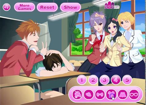 anime free dress up games school buddies anime dress up game youtube