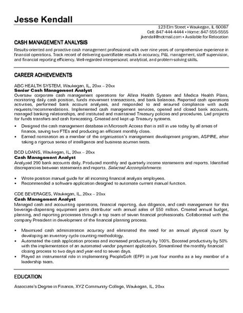 Resume For Bank Regional Manager by Management Resume Best Resume Gallery