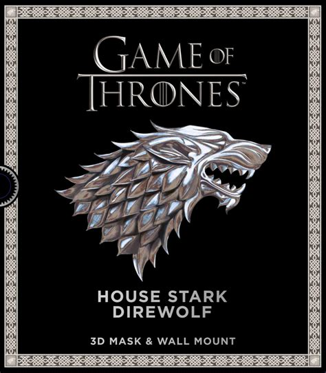game  thrones house stark direwolf