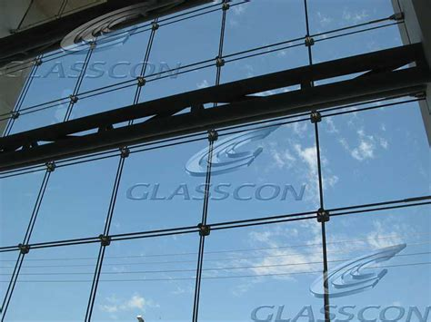architectural building skin cable net spider glass facade glasscon gmbh architectural