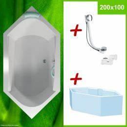 Sechseck Badewanne 180x80 : badewannen faltwand 100x140 cm made in germany von ihr bad info ~ One.caynefoto.club Haus und Dekorationen