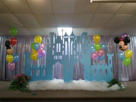 Disney Photo Backdrop by Castle Backdrop Events In 2019 Frozen Birthday
