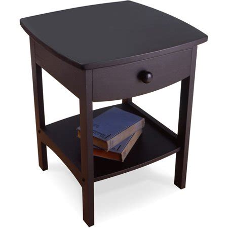 Curved Nightstand by Curved Nightstand End Table Set Of 2 Colors