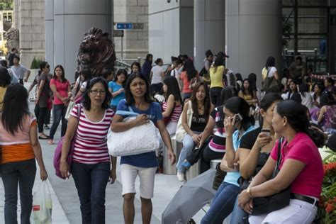 hong kongs domestic helpers   occupy central  economist
