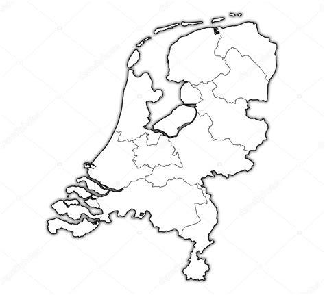 Kleurplaat Nederland Provincies by Landkaart Nederland Kleurplaat Kaart De Provincies