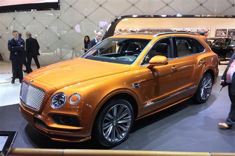 New Bentley Bentayga Speed: world's fastest SUV shown in ...