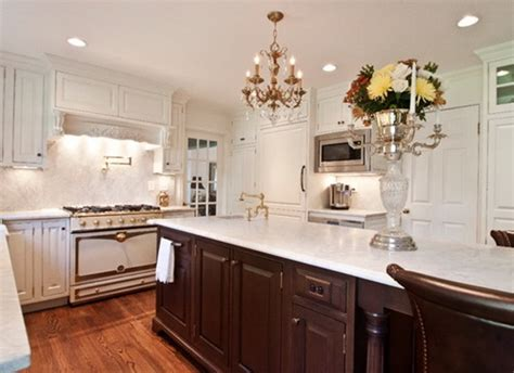 elegant  luxurious french kitchen design ideas