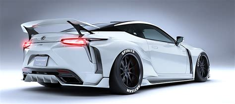 Lexus Lc Wide Body Kit From Artisan Spirits Forcegtcom