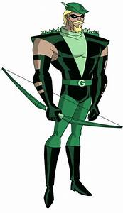 JLU Green Arrow | Green arrow, Green arrow justice league ...
