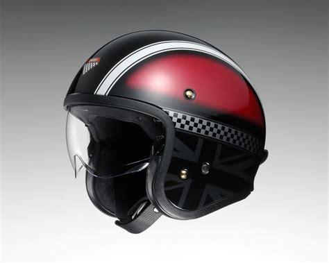How About An Open Face Helmet With An Internal Sun Visor