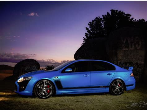 2010 Ford Performance Vehicles Fpv Fg Gt Supercharged