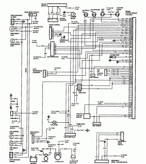 Chevy Truck Wiring Intrumental Diagram Database