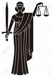 Symbol Of Justice Goddess Of Justice Themis Royalty Free ...