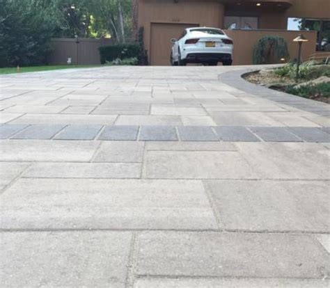 driveway paving materials driveway design ideas professional masons company autumn leaf