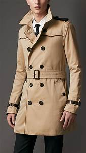 Trench Coat Burberry Homme : burberry homme trench burberry chaude achat trench coat ~ Melissatoandfro.com Idées de Décoration