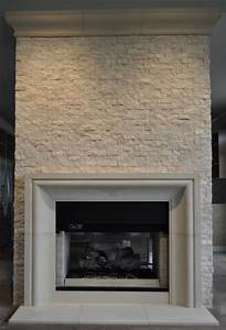 Cast stone fireplace mantels contemporary family room for Cast stone fireplace mantels