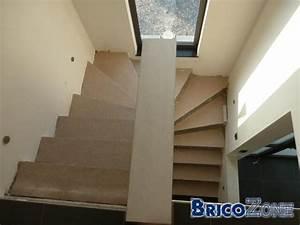 Habiller Un Escalier En Béton Brut : recouvrir mon escalier en b ton ~ Nature-et-papiers.com Idées de Décoration