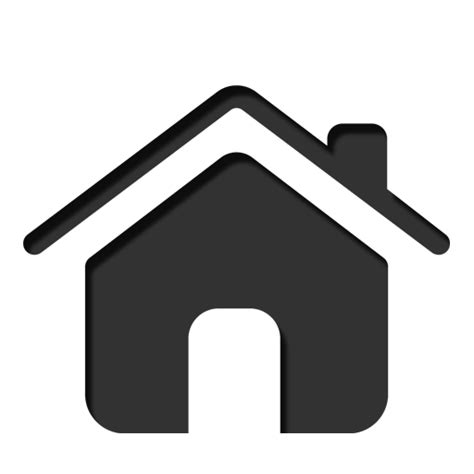 home icon black and white iconfinder icons by ipanpun