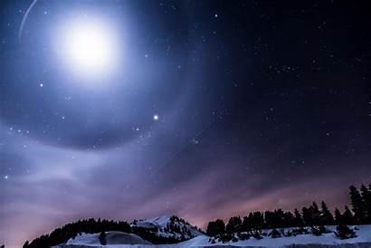 Night Sky Wallpapers Moon Resolution