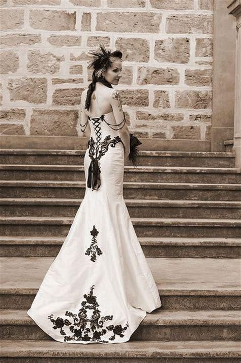 victorian gothic wedding dress i think i like it