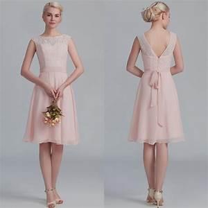 blush pink lace bridesmaid dress Naf Dresses