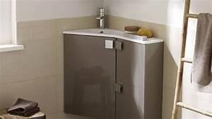 meuble vasque d angle salle de bain 1 quelles astuces With meuble d angle pour salle de bain