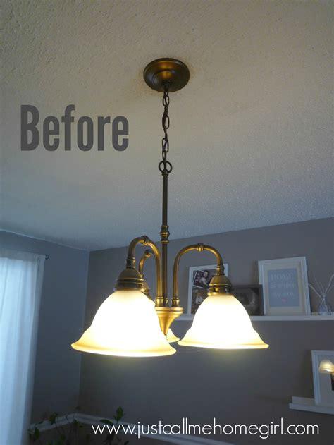 Light Fixture by Dining Room Light Fixture Update Just Call Me Homegirl