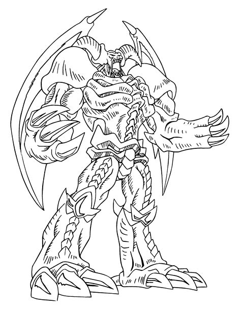 Kleurplaat Yu Gi Oh by Free Printable Yugioh Coloring Pages For