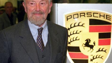 ferdinand alexander porsche ferdinand porsche legendary 911 sports car creator dies