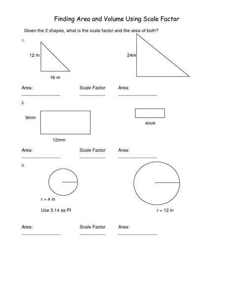 12 best images of scale drawing worksheets models and