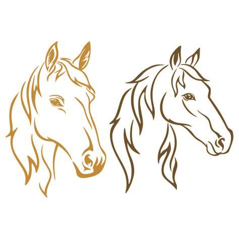Free happy camper svg cut file. Horse Cuttable Design