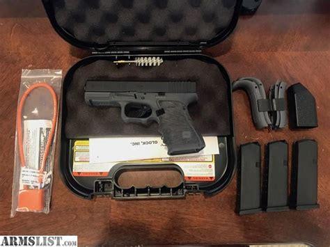 Armslist For Sale Glock 19 Gen 4 Grey Frame Custom