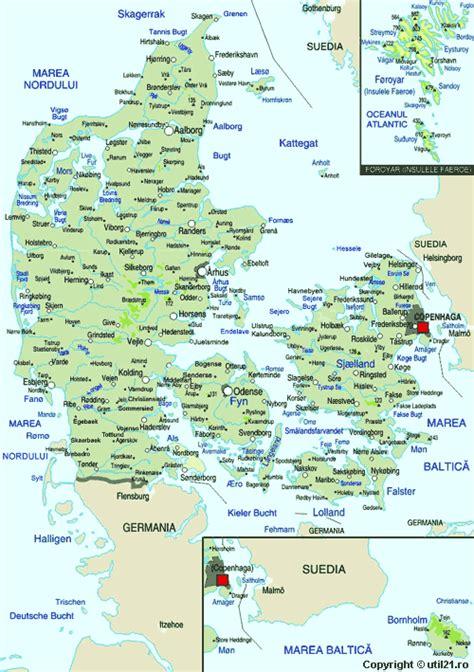 map  denmark maps worl atlas denmark map  maps