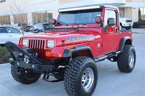 old jeep wrangler 1990 1990 jeep wrangler scrambler custom 4x4 ice cold ac